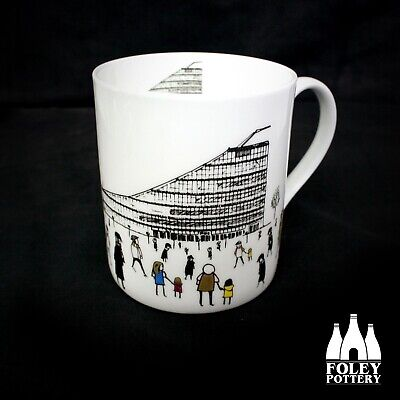 GB: Manchester, Urbis, Skyline, Inspired Bone China Mug By Foley Pottery  • 16.95£