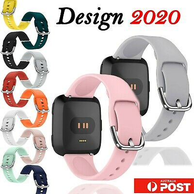 $ CDN9.52 • Buy For Fitbit VERSA Replacement Band Silicone Wrist Sports Strap Band Wristband