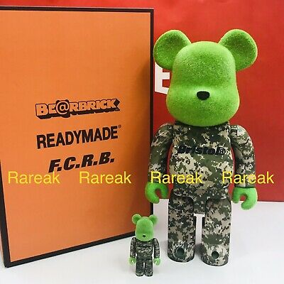 $288.88 • Buy Medicom Be@rbrick 2019 Readymade Bristol Soph 400% + 100% F.C.R.B Bearbrick Set