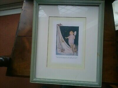 Margaret W Tarrant Enchanting Thimblina Framed Picture. • 45£
