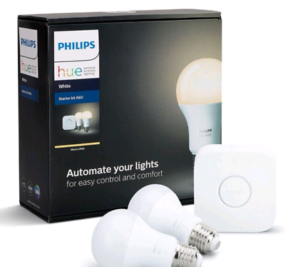 AU89 • Buy Philips HUE LED Starter Kit   2 Bulbs BRAND NEW - SEALED