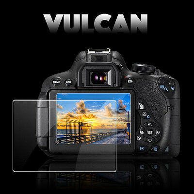 AU28.41 • Buy VULCAN Glass Screen Protector For Sony A6000 LCD. Tough Anti Scratch Cover