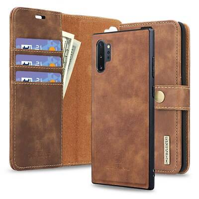 $ CDN23.74 • Buy For Samsung Galaxy Note 9 10+ S10 S9 S8 Shockproof Flip Wallet Card Leather Case