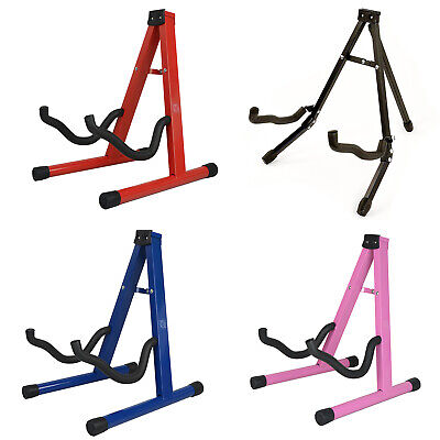 $ CDN12.85 • Buy Free Standing Folding Metal Acoustic Electric Universal A Frame Guitar Stand