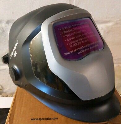 $ CDN341.61 • Buy 3M Speedglas Welding Helmet 9100X Auto-Darkening Filter 06-0100-20HASW Hard Band