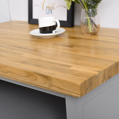 Solid Oak Kitchen Worktop Breakfast Bars Platform Quality Solid Wood Timber 2M • 138£