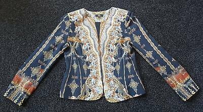 AU150 • Buy Czarina Black Vintage Silk Jacket Size Small