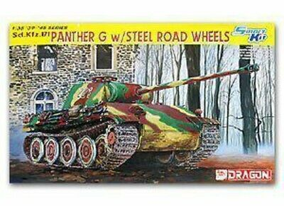Dragon 6370 1/35 SCALE Panther G W/Steel Road Wheels-Included Dream Track Bonus • 44.53£