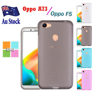 AU4.99 • Buy Soft Gel Shockproof Matte Frosted Clear Case Cover For Oppo A73 /F5 | A75