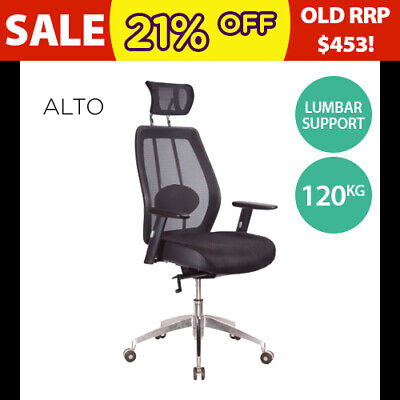 AU367 • Buy Executive Ergonomic Chair Gaming Mesh Office Computer Chairs Arms & Headrest NEW