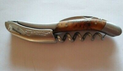 Laguiole En Aubrac Corkscrew Marbled Wood Handle Guilloche , Used • 133.86£