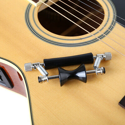 $ CDN17.01 • Buy Guitar Capo Glider Metal Rolling Wood Electric Personality Sliding Tuning F3B2