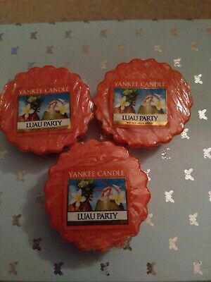 Yankee Candle Wax Melts. Luau Party X3. New • 4.49£