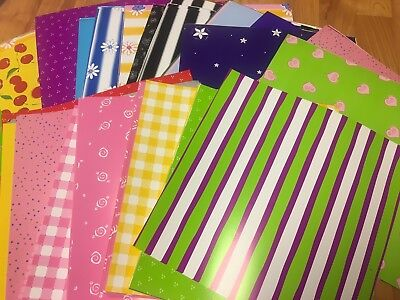 $10.99 • Buy Huge Lot 35 Sheets Scrap In A Snap Scrapbook Paper 12x12 Bright Flower Cherry 12