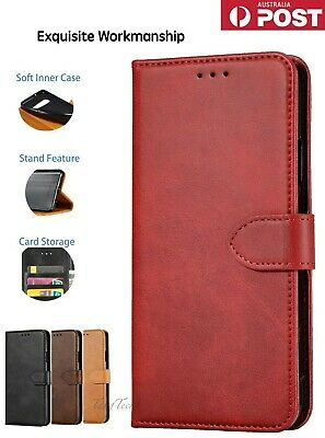 AU10.89 • Buy 【Genuine Leather】Magnetic Flip Wallet Case Cover For Apple IPhone8 XR X11pro MAX