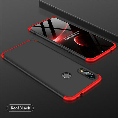 For Xiaomi Redmi Note 7/8/8Pro 360°Protection Case Slim Cover+Tempered Glass • 8.89$