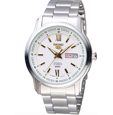 $ CDN155.71 • Buy Seiko 5 Men's Automatic Stainless Steel Watch SNKP15J1