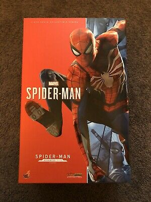 AU600 • Buy 1/6 Scale Hot Toys PS4 Spiderman Advanced Suit Marvel Avengers Brand New