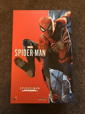 $ CDN533.36 • Buy 1/6 Scale Hot Toys PS4 Spiderman Advanced Suit Marvel Avengers Brand New