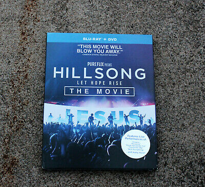 $9.99 • Buy Hillsong Let Hope Rise The Movie Blu-ray + Dvd Brand New With Slipcover