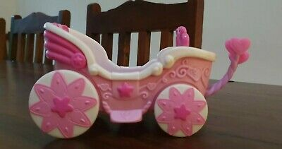 Rare My Little Pony  Vintage Wedding Carriage Movable Reins Car  • 11.99£