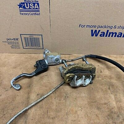 AU212.63 • Buy 1985 Yz125 83 84 OEM Front Brake COMPLETE WORKING