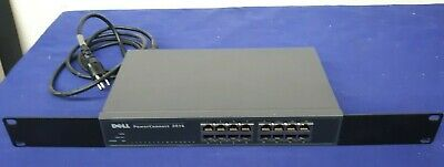 $20.97 • Buy DELL PowerConnect 2216 16 Port Rack-Mountable Switch W Power Cord