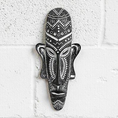 Tribal Aztec Face Mask Wall Mounted Home Decoration African Tiki Plaque Ornament • 13.99£