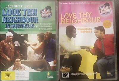 AU135 • Buy Love Thy Neighbour In Australia & Complete Series 1 Rare Dvd Tv Season One Show