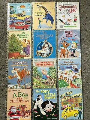 £2.13 • Buy 12 Used Little Golden Books