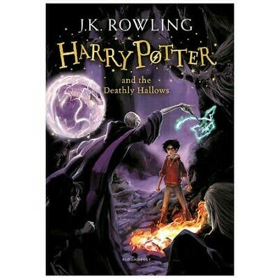 AU10 • Buy Harry Potter And The Deathly Hallows Original Edition Book