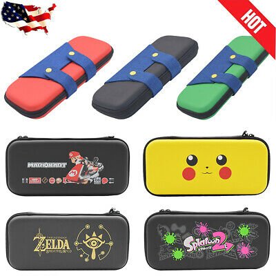 Zipper Bag Carrying Case With Handle For Nintendo Switch Console Joy-Con Mario • 10.33$