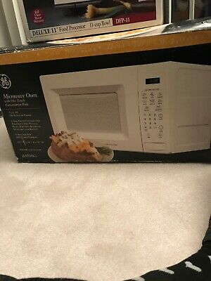 $75 • Buy Microwave GE JES738WJ .7 Cu. Ft. 700W White Countertop Microwave Oven Excellent!