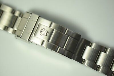 $ CDN2581.33 • Buy Rolex 20mm 93250 Ss Submariner 6  Sel Bracelet 801 Ep For Case With Hole 16610