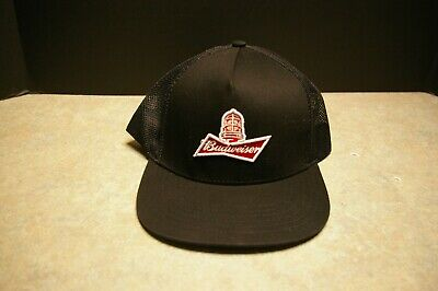 $ CDN24.99 • Buy Brand New Gongshow Budweiser Red Light Nhl Beer Snap Back Flat Brim Hat With Tag