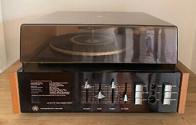 AU250 • Buy Vintage Retro Garrard Record Player Model 1025T Auto Turntable Includes Manual