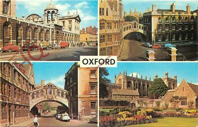 Picture Postcard__Oxford (Multiview) Showing The Colleges • 1.99£