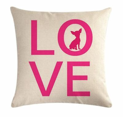 Chihuahua Gifts Cosmetic Bag Or Cushion Cover Christmas Gift Dog Present • 6.99£
