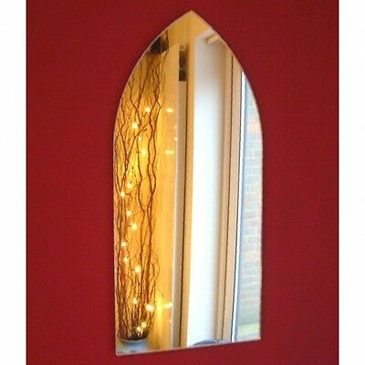 £50.99 • Buy Gothic Arch Shaped Mirrors (Shatterproof Safety Acrylic Mirrors, Several Sizes)