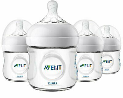 AU31.73 • Buy Philips Avent Natural Baby Bottle Clear 4 Oz - 4 Pack CLEAR GiFT