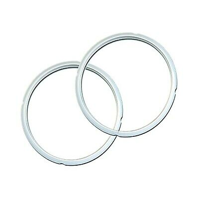 $19.99 • Buy Instant Pot Sealing Ring 2 Pack Clear 8 Quart Genuine Replacement Part Brandnew