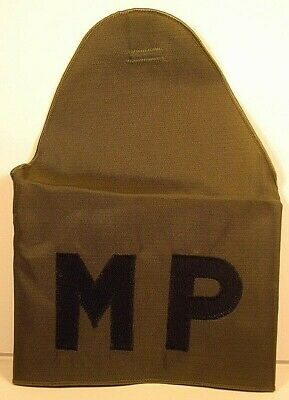 $16 • Buy US Army Military Police MP Armband Brassard OD Green With Self-Adhesive Straps