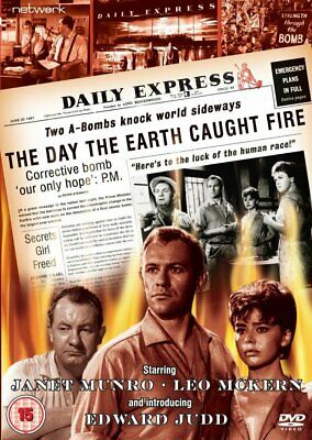 £6.20 • Buy The Day The Earth Caught Fire (1961) DVD - VERY GOOD Condition