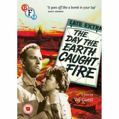 £8.50 • Buy THE DAY THE EARTH CAUGHT FIRE (1961) DVD [BFI Edition] - LIKE NEW Condition