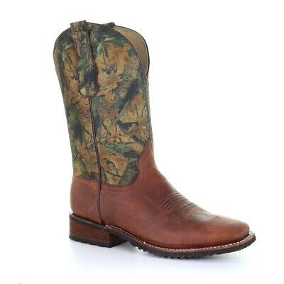 $69.97 • Buy Circle G By Corral Men's Camo Distressed Boots L5524