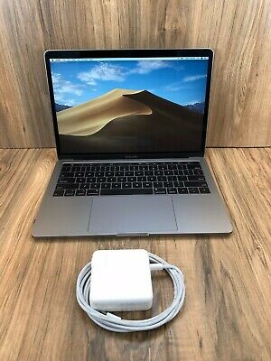 """Apple MacBook Pro 2018 Space Gray 13"""" Touch Bar 256GB SSD 8GB RAM 2.3GHz Tested • 1,090$"""