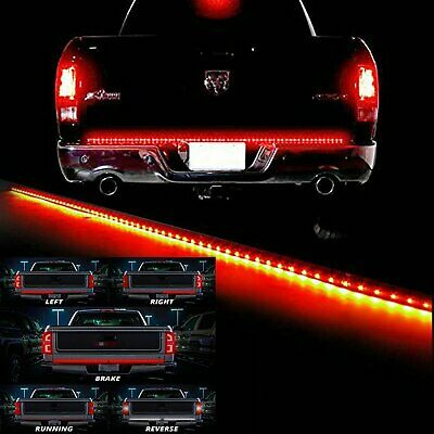 $18.99 • Buy 60  LED Tailgate Strip Light Bar Reverse Brake Turn Signal Light For Car Truck