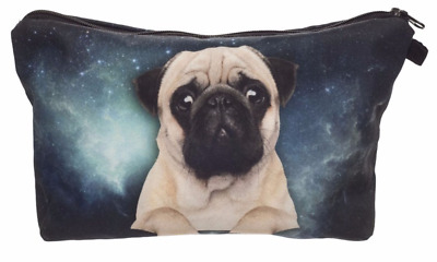 Pug Cosmetic Bag Or Cushion Cover Gifts Present Christmas Celebrations Dog Gift  • 6.99£