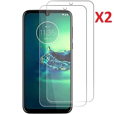 (2 Pack) Tempered Glass Screen Protector For Motorola Moto G8 Plus • 3.49£