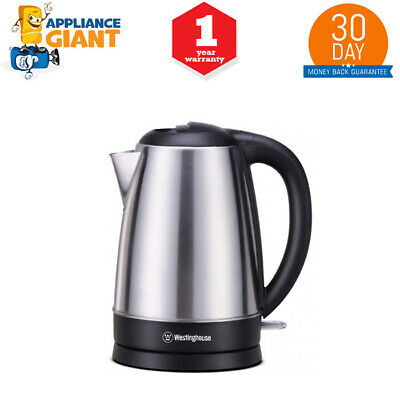AU30 • Buy Westinghouse WHKE06SS 1.7 L Stainless Steel Kettle